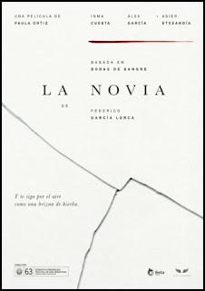Cartel de La Novia (Paula Ortiz, 2015)