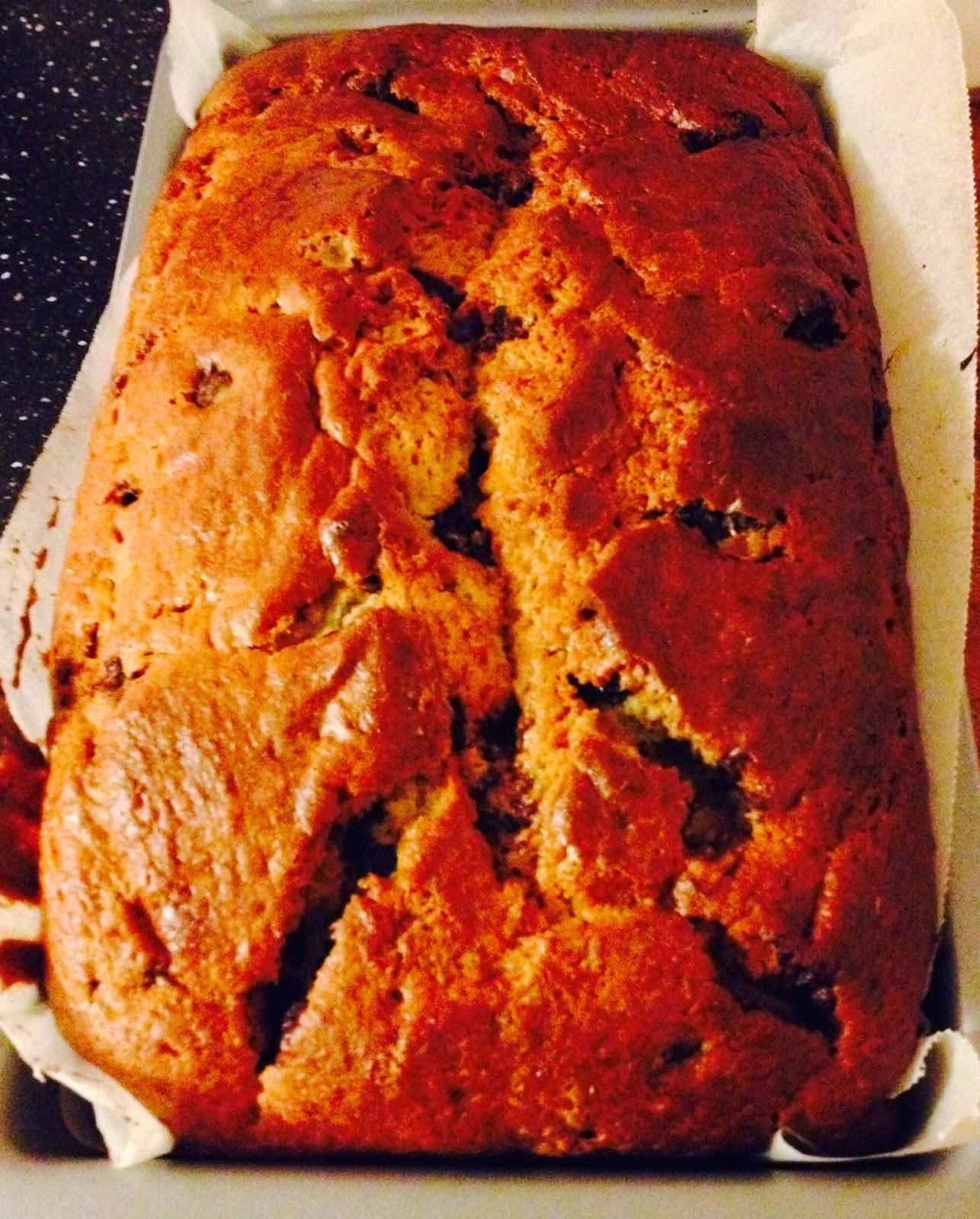 primo blog e prima ricetta: banana bread (bimby e non)
