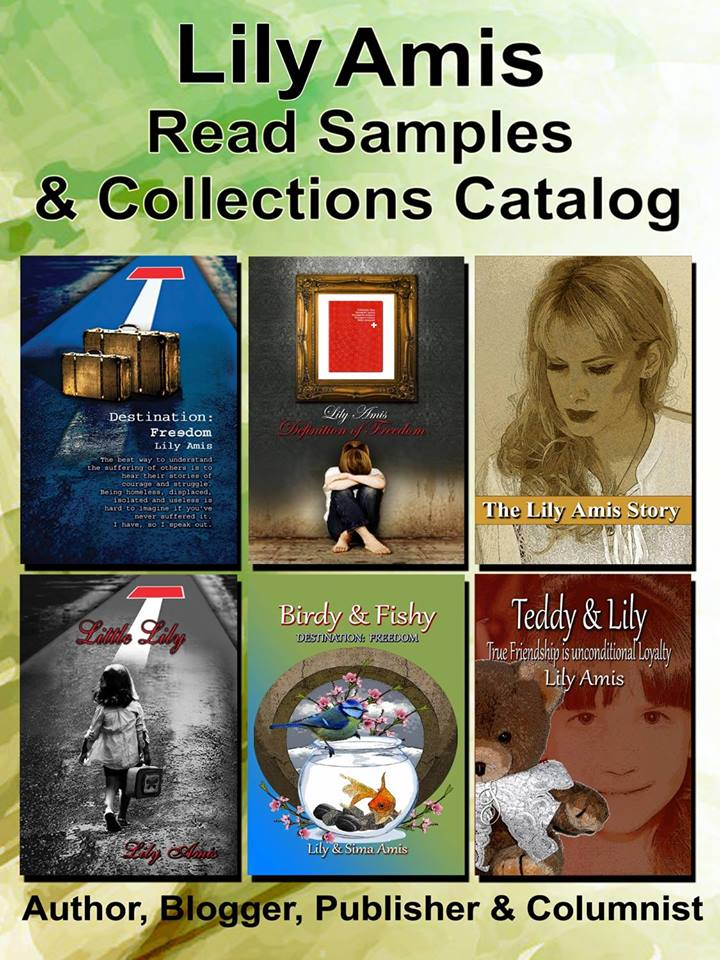 Lily Amis Books & Collections Catalog is available!