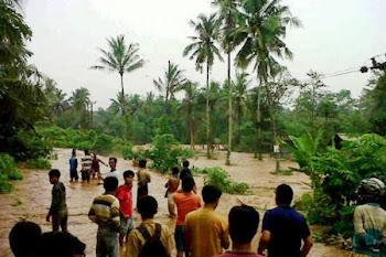 Banjir. Kotabumi Lampung Utara