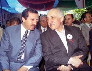 Recep Tayyip Erdoğan and Fethullah Gülen