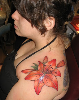 Best Flower Tattoo Designs - The Lily Tattoo