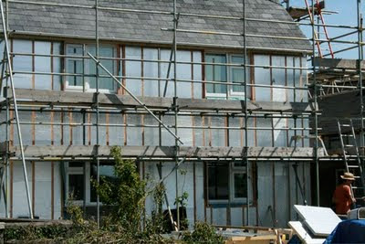 Externally insulating a concrete, hard-to-heat house in Wales