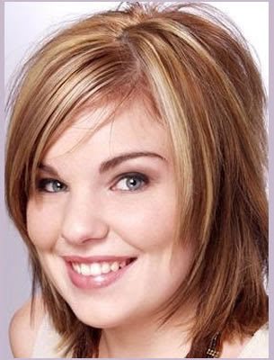 Medium Length Hairstyles for Plus Size Women
