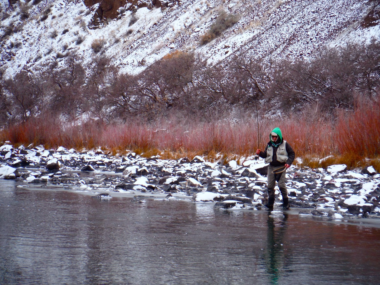 Erik s fly fishing blog the owyhee to ourselves for Owyhee river fly fishing