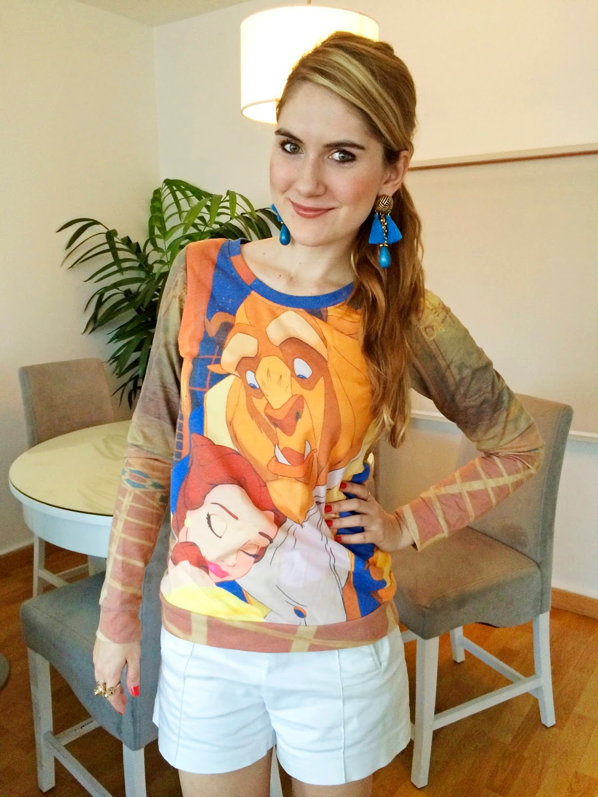 Beauty and the Beast Sweater
