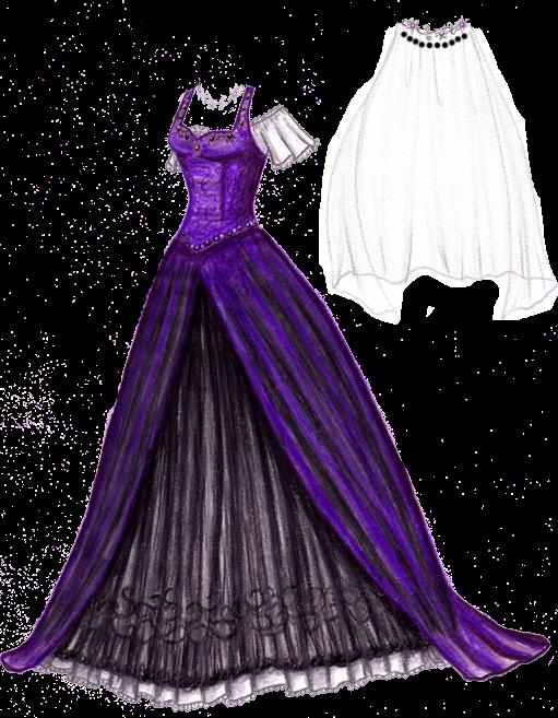 she fashion club purple and black wedding dresses