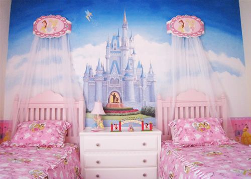 Princess bedroom decorating ideas dream house experience for Princess bedroom decor