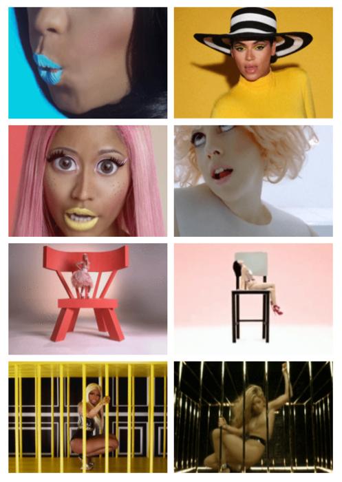 Nicki Minaj Copies Beyonce Chatter Busy: Nicki Mi...