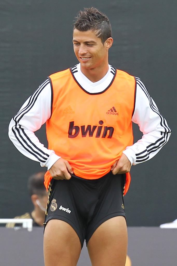 Cristiano Ronaldo Cheio De Tesao Nu Pelado A Poil Nudo Desnudo