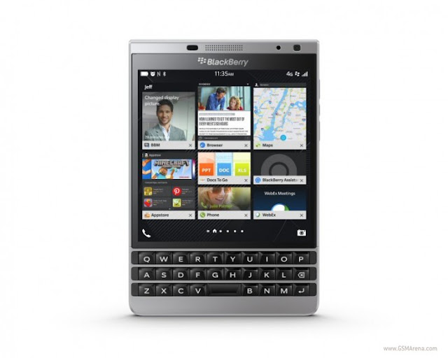 BlackBerry Passport Silver Edition Mobile in Amazon