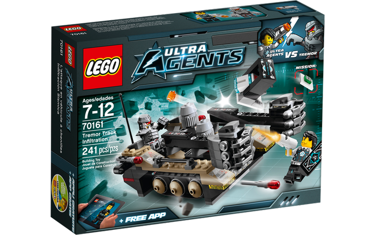 Đồ chơi Lego Tremor Track Infiltration 70161