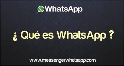 ¿Que es WhatsApp?