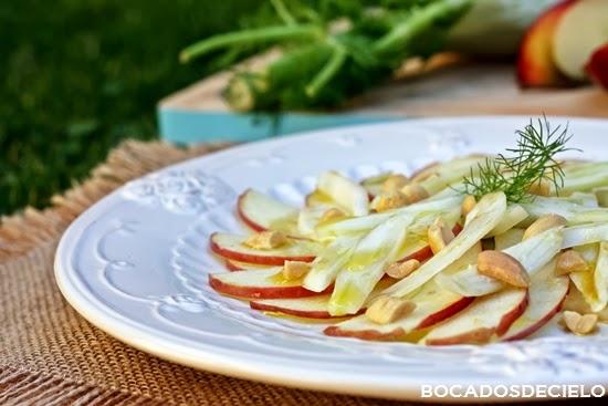 Bocadosdecielo ensalada de hinojo y manzana for Cocinar hinojo