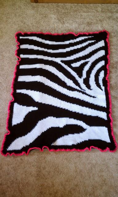 Free Zebra Stripe Crochet Pattern : MNE Crafts