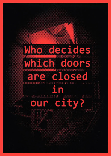 progaganda, poster, flyer, bill poster, censor, control, city, manchester, abandoned, urbex, exploration, adventure, graphic design, design, freelance, 1984,