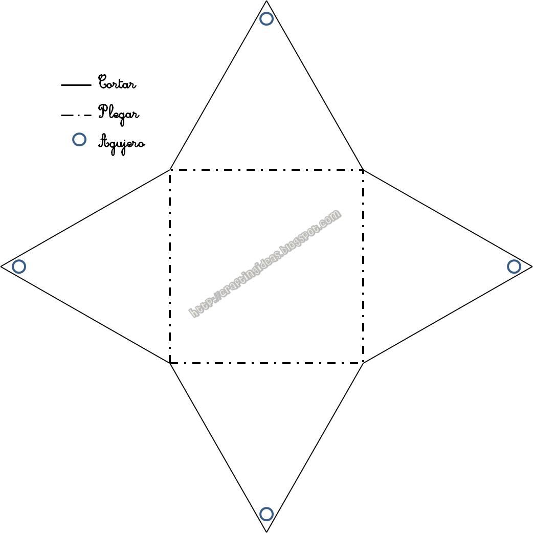 Piramide Para Recortar El Cubo Tiene Todas Sus Caras Con Forma De