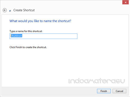 Shortcut Shutdown dan Restart Pada Windows 8/ 8.1/ 10 3