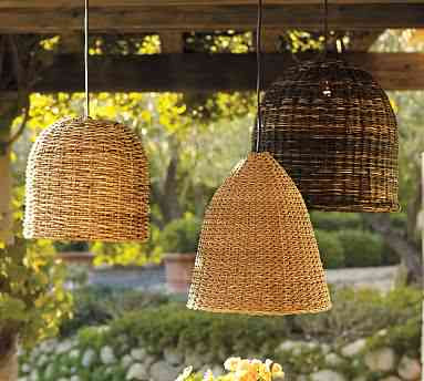 Got to love the versatility of these ottoman style wicker pods extra