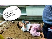 Zafirah Carik Gaduh Dengan Qhaliff