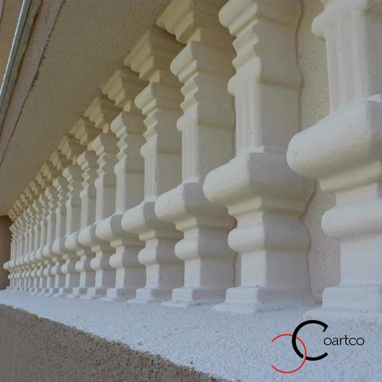 Ornamente din polistiren, balustrii, ornamente exterioare case