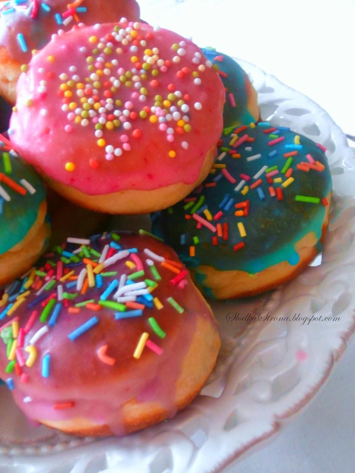 Mini Pączki, Pączusie dla Dzieci - Przepis - Słodka Strona