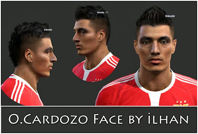 PES 2013 O.Cardozo Face by ilhan