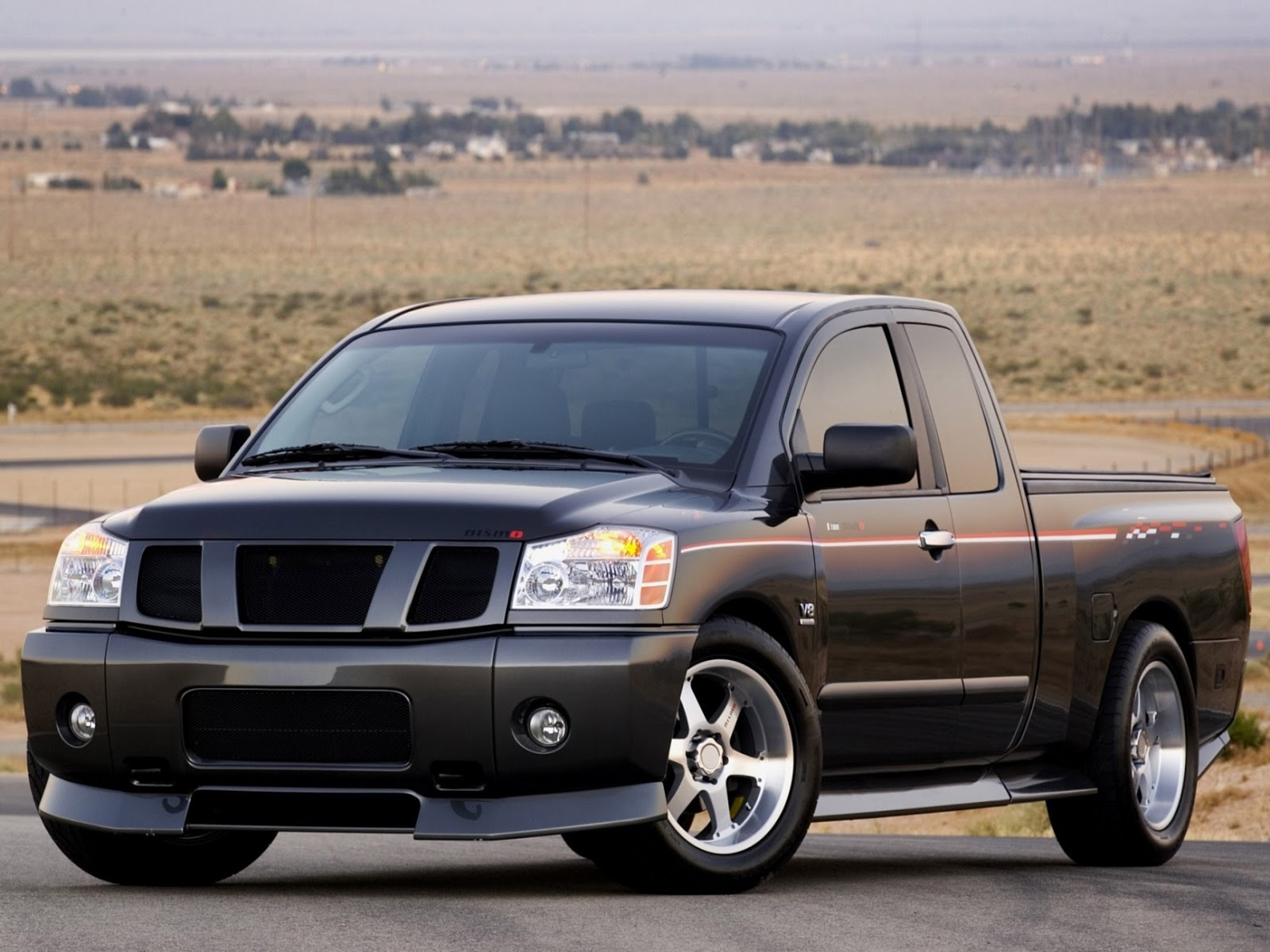 all cars nz 2004 nismo nissan titan concept. Black Bedroom Furniture Sets. Home Design Ideas