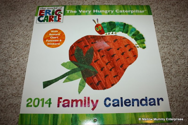 Very Hungry Caterpillar Calendar