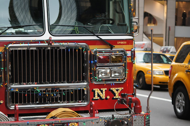A New York City fire truck