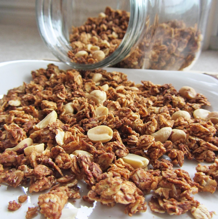 Peanut Butter Granola | Once Upon a Cutting Board