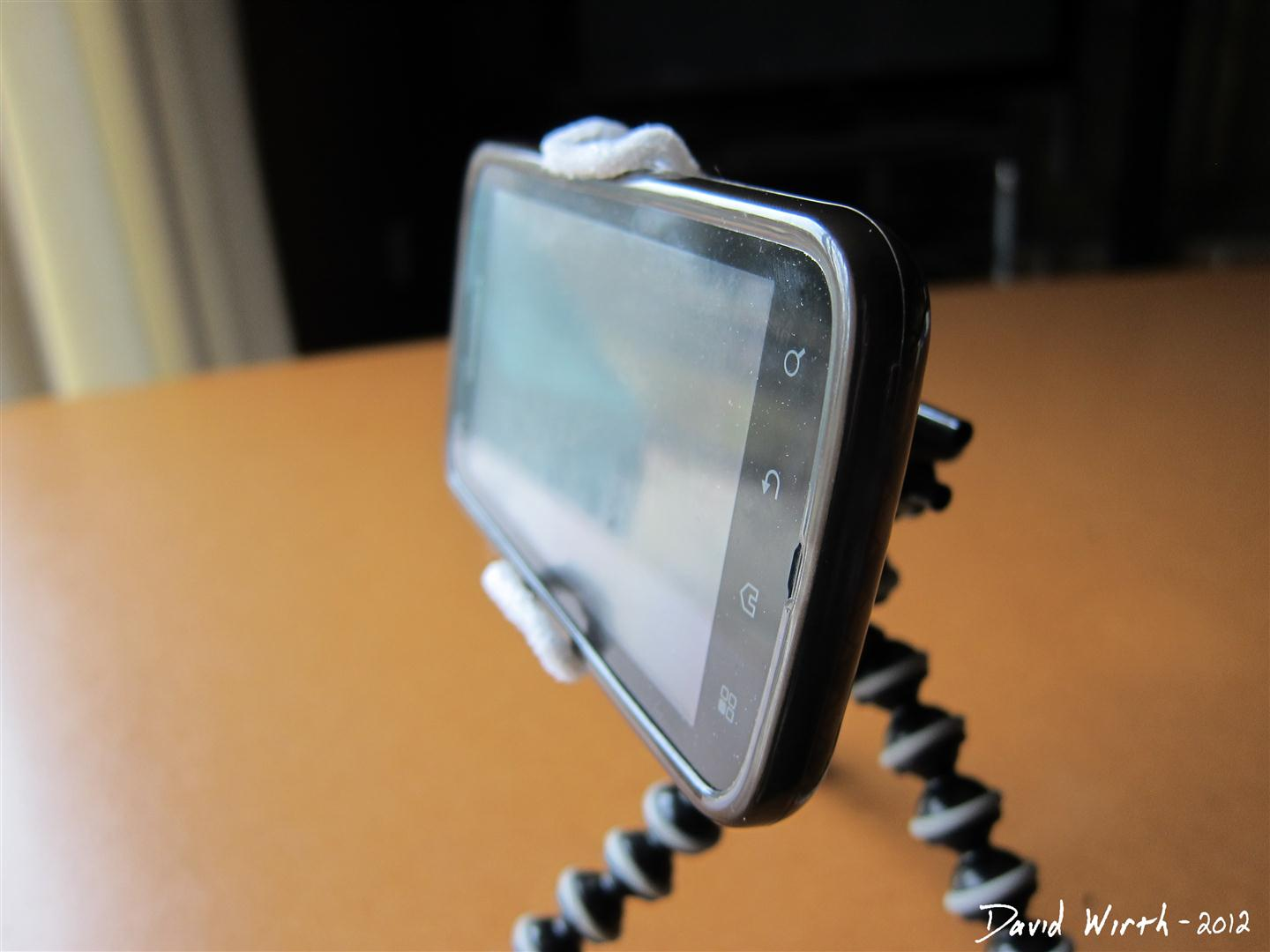 how to make phone camera stand at home