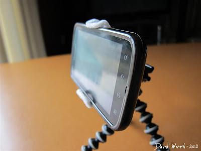 make Cell Phone Holder, Binder Clip