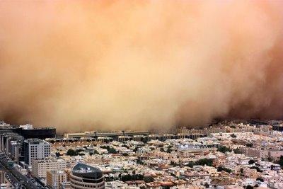 badai pasir, badai pasir di arab, badai pasir di padang gurun, padang gurun, lautan pasir, arab saudi, makkah
