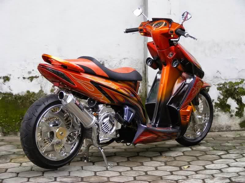 Modifikasi Honda Vario 125