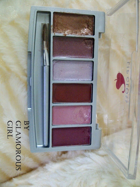 cream eye shades pallete