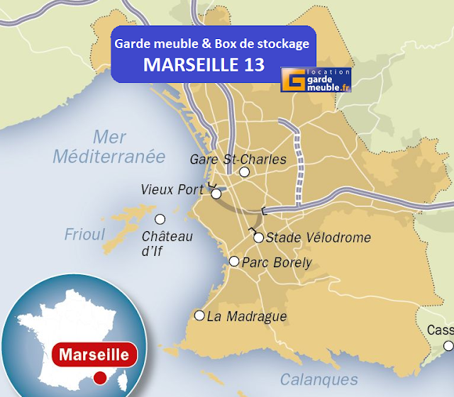 Garde meuble marseille box de stockage marseille 13 for Location garde meuble marseille