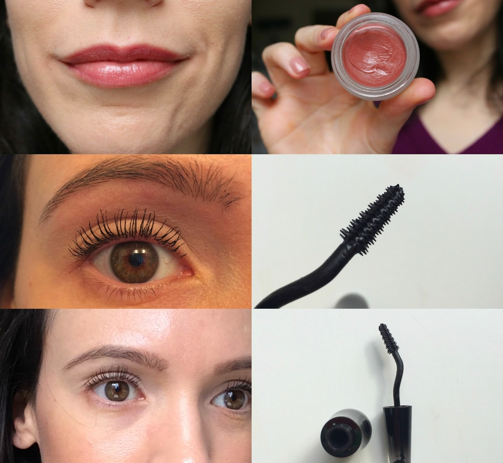 pictures of Lancome Grandiose mascara on lashes