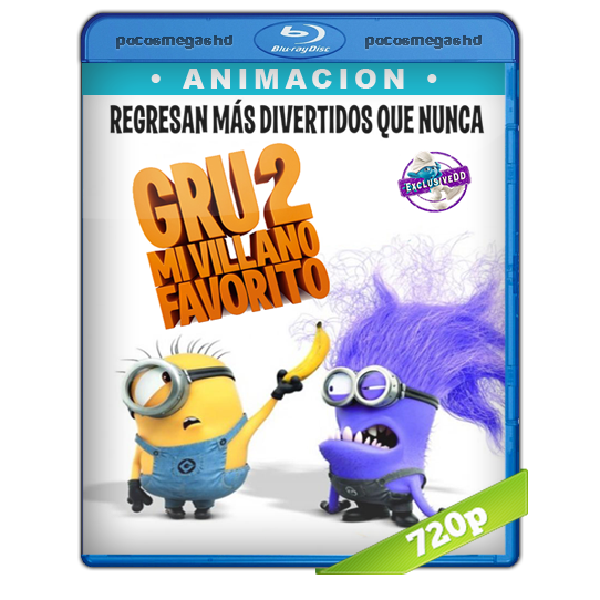 Mi Villano Favorito 2 (2013) BRRip 720p Audio Dual Latino 5.1/Ingles (peliculas hd )