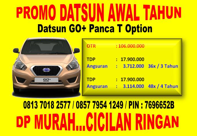 Promo Datsun GO+ Panca T Option Awal Tahun di 0813 7018 2577