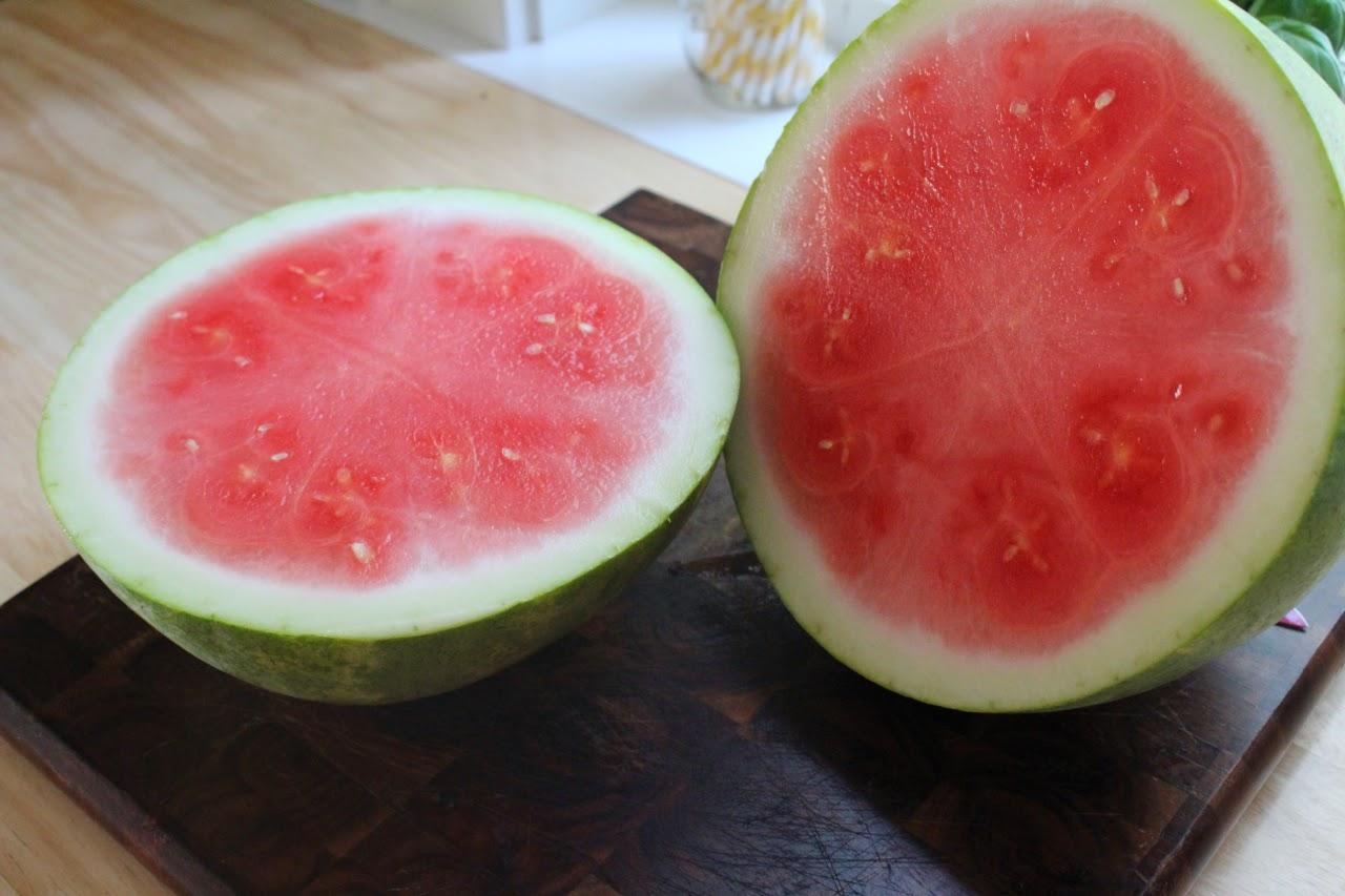 Watermelon Arugula and Feta Summer Salad