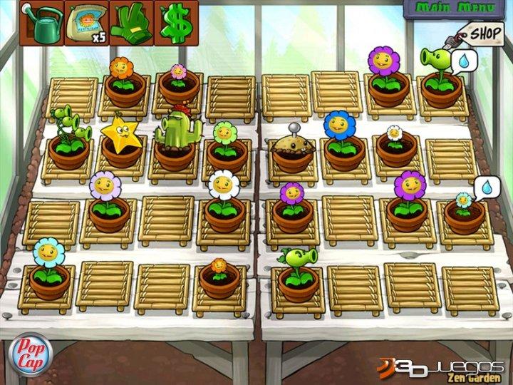 Viviendo cultura plantas vs zombies for Jardin zen plantas vs zombies