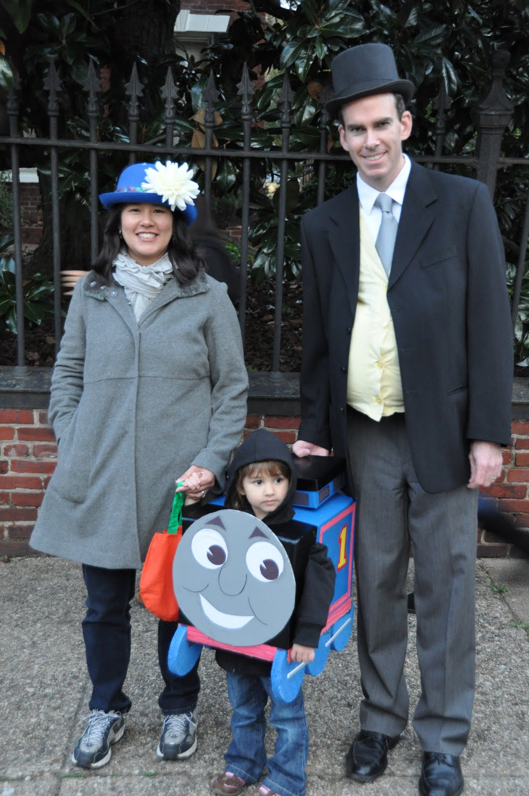 Mommy is attempting to be Lady Hatt Sir Topham Hattu0027s wife but ended up looking slightly like Mary Poppins instead. The parade was fun but the best part ...  sc 1 st  Bringing Up Two Baby McDonalds & Bringing Up Two Baby McDonalds: Here comes Thomas!