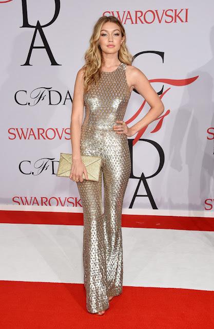 Fashion Model @ Gigi Hadid - CFDA Fashion Awards in NYC