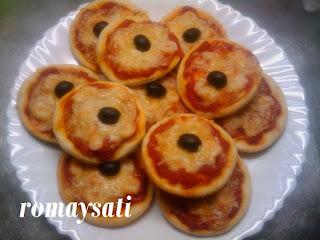 طريقة عمل ميني بيتزا بالكروفيت
