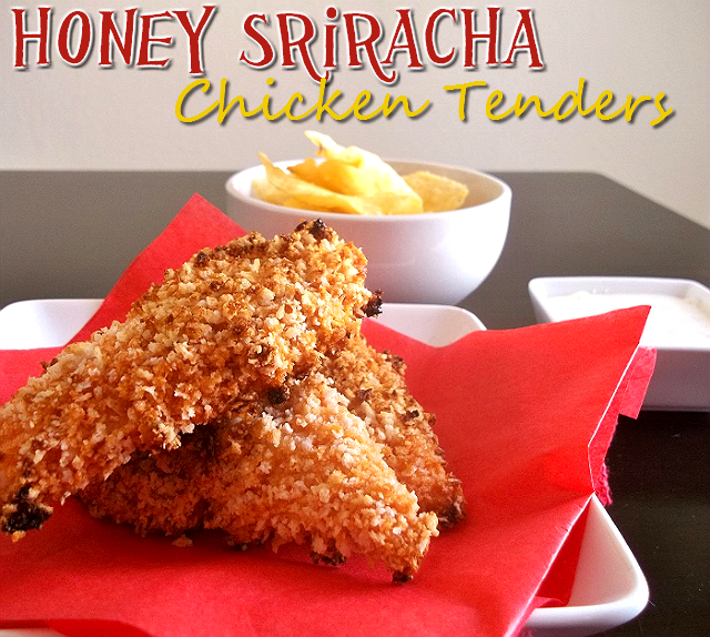 Honey Sriracha Chicken Tenders #sponsored #MC