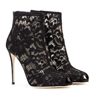 ankle boot dolce gabbana renda