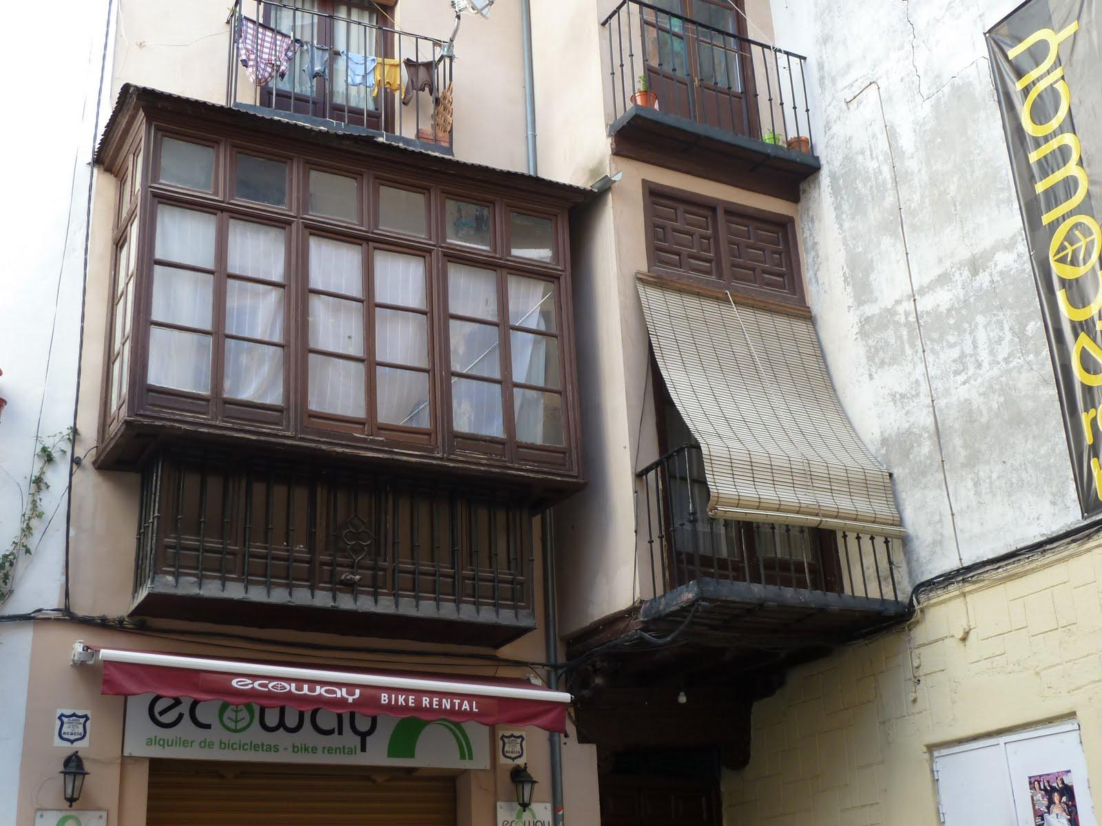Nuestra granada balcones ventanas y azoteas - Persianas para balcones ...