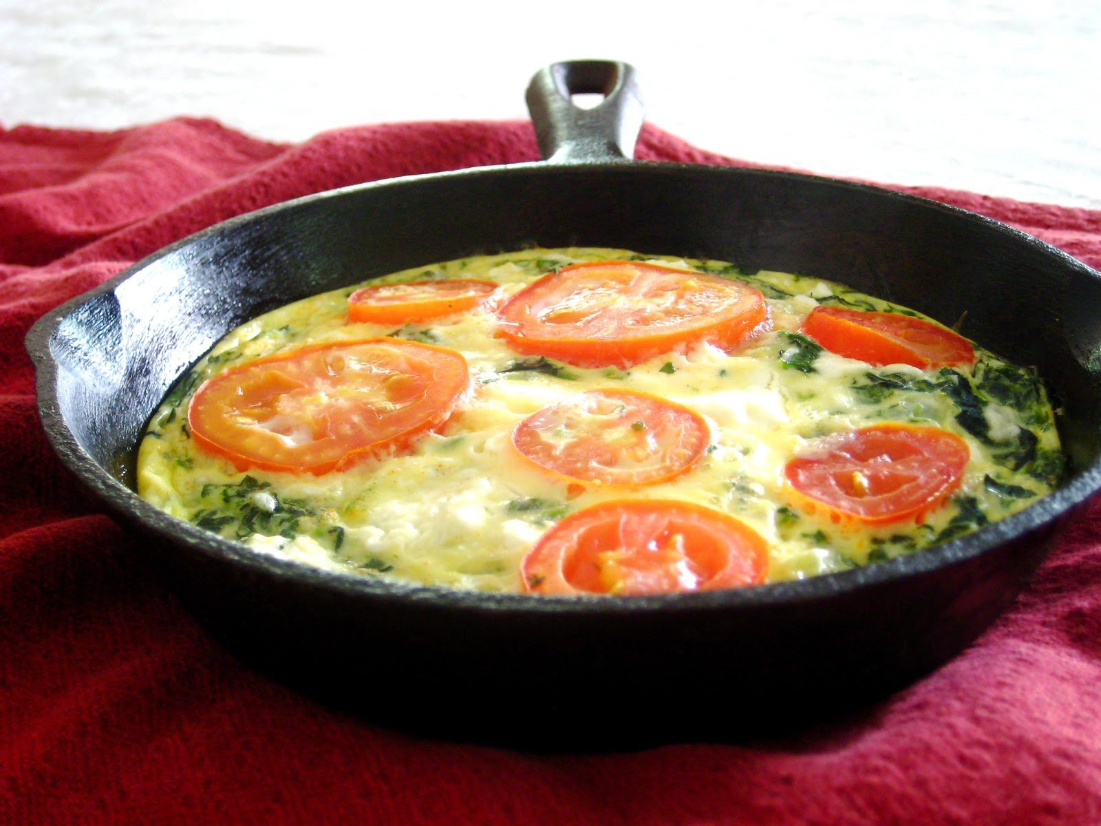 Taste and See: Leek and Spinach Frittata