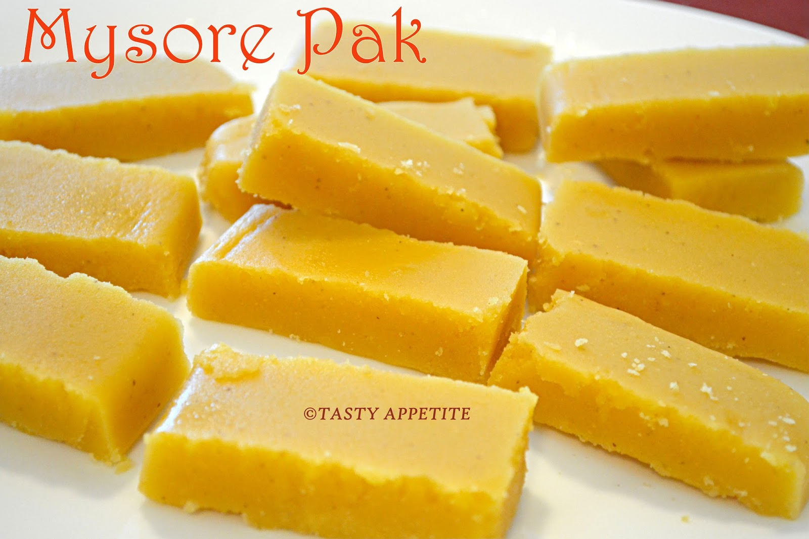 Mysore Pak: The 3-Ingredient Dessert that Melts in the Mouth ...